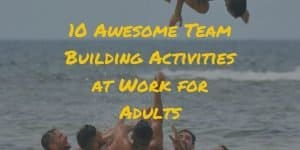team building activities at work for adults