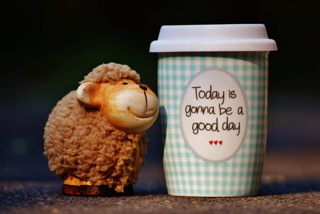 how to stay positive - today is gonna be a good day