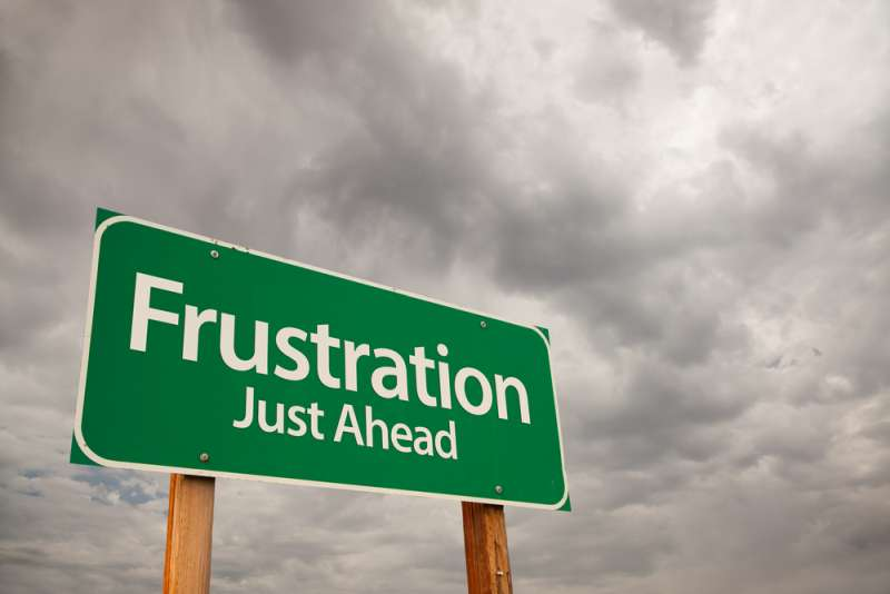 Knowing What are Signs of Frustration